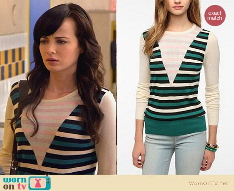 Fashion of Awkward: Jane Stripe Sweater by Coincidence and Chance from Urban Outfitters worn by Ashley Rickards