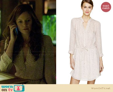 Babaton Bennett Dress in Espace/Whitecap Grey worn by Rachel Boston on Witches of East End