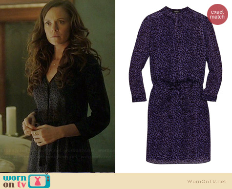Babaton Bennett Dress in Purple worn by Rachel Boston on Witches of East End