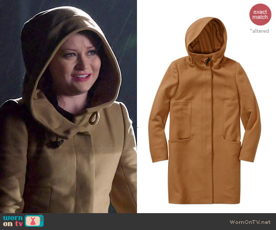 Babaton Pearce Coat worn by Emilie de Ravin on OUAT