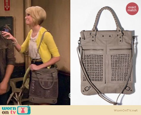 Baby Daddy Fashion: Urban Outfitters 7 Chi Studded tote worn by Chelsea Kane