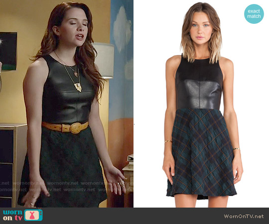 Bailey 44 Gondola Dress worn by Katie Stevens on Faking It