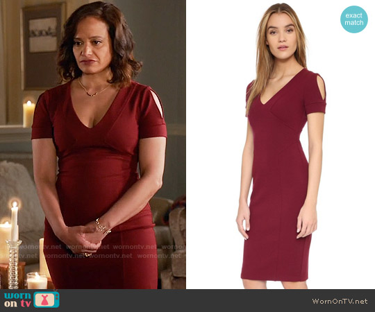 Bailey 44 Right Angle Dress worn by Judy Reyes on Devious Maids