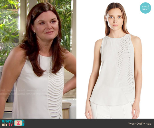 Bailey 44 Royal Stables Top worn by Heather Tom on The Bold & the Beautiful