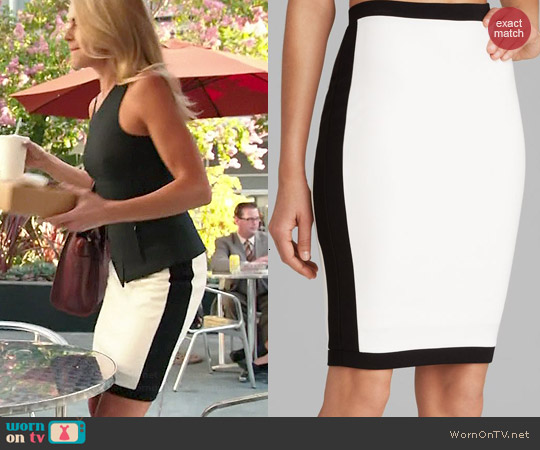 Bailey 44 Senegal Skirt worn by Eliza Coupe on Benched