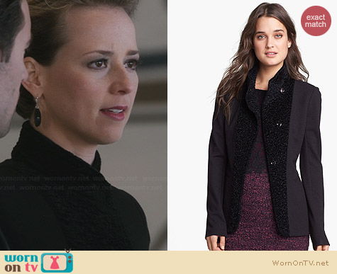 Bailey 44 Son Of The Jackal Jacket worn by Karine Vanasse on Revenge