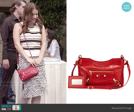 Balenciaga Shoulder Bag worn by Paige Spara on Kevin from Work