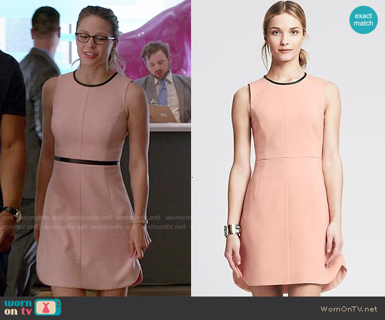 Banana Republic Piped Sheath worn by Melissa Benoist on Supergirl