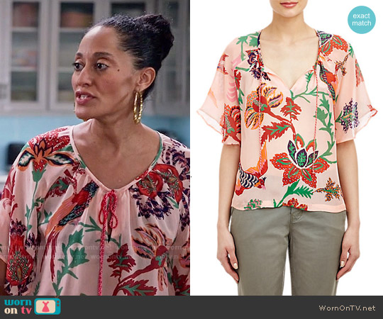 Banjanan Ashoka Blouse worn by Tracee Ellis Ross on Blackish