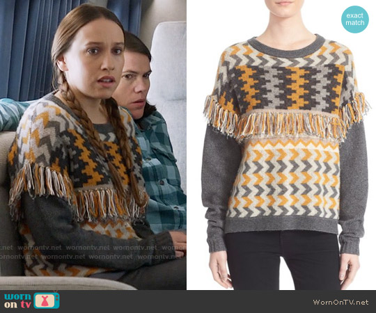 worn by Catherine Meyer (Sarah Sutherland) on Veep