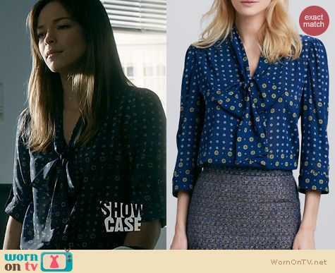 BATB Fashion: Alice and Olivia Arie Blouse worn by Kristen Kreuk