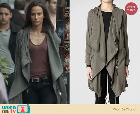 BATB Fashion: All Saints Portere Parker Jacket worn by Nina Lisandrello