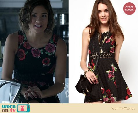 BATB Fashion: Free People Daisy Waist Dress worn by Nicole Anderson