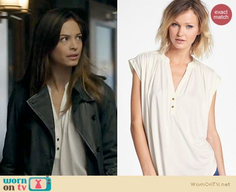 BATB Fashion: Juicy Couture Luna Top worn by Kristen Kreuk