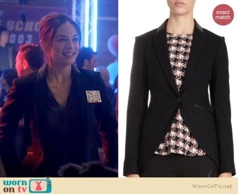 Fashion of BATB: Rag & Bone Hubert Jacket worn by Kristen Kreuk