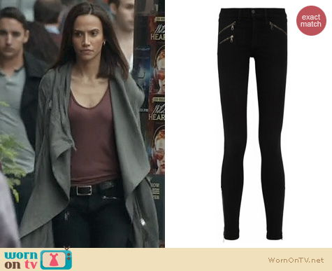 BATB Fashion: Rag & Bone Zip Pocket Jeans worn by Nina Lisandrello