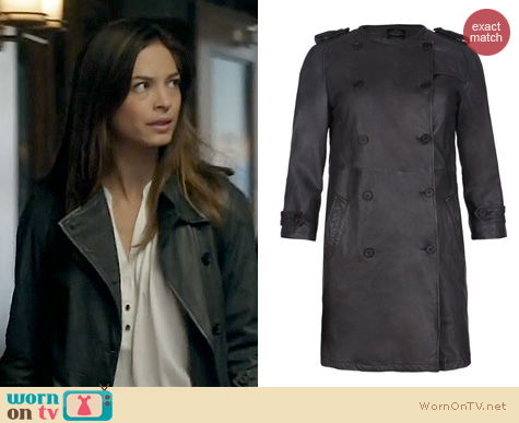 BATB Style: All Saints Villers Trench Coat worn by Cat Chandler