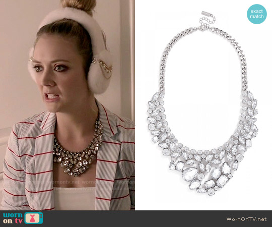 The Heartbreaker Bib worn by Chanel #3 on Scream Queens