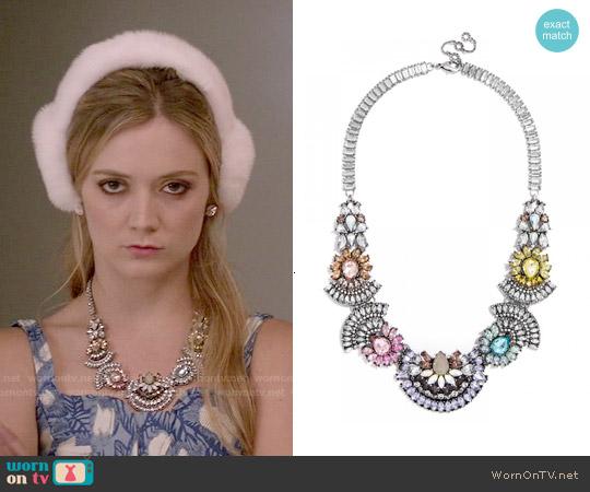 Baublebar Frank Bib Necklace worn by Chanel #3 on Scream Queens