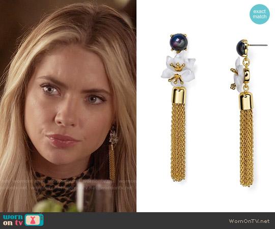 Baublebar Hanalei Drop Earrings worn by Hanna Marin on PLL