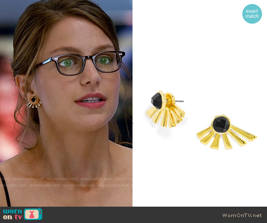 Baublebar Meteor Ear Jackets worn by Kara Danvers on Supergirl