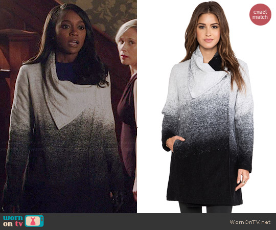 BB Dakota Danton Coat worn by Aja Naomi King on HTGAWM