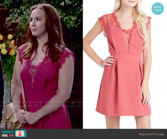 Bcbgeneration Lace Dress worn by Camryn Grimes on The Young & the Restless