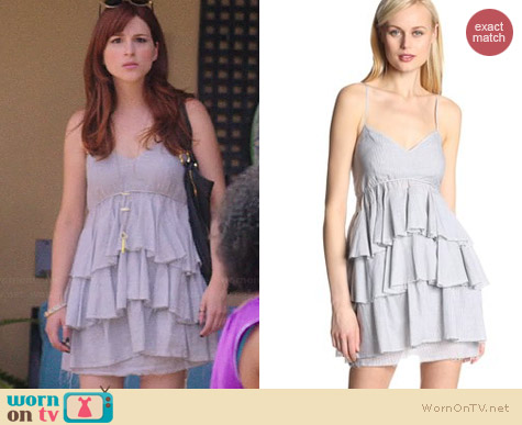 Bcbgeneration Multi Tier Dress worn by Aya Cash on You're the Worst