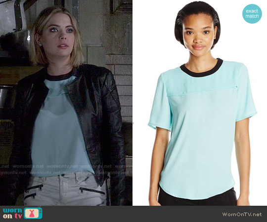 Bcbgeneration Yoke Overlay Top worn by Hanna Marin on PLL