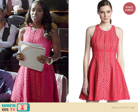 Bcbgmaxazria Guilanna Dress worn by Aja Naomi Kong on HTGAWM
