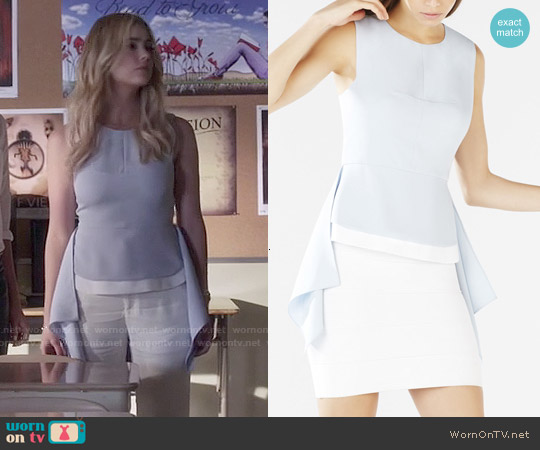 Bcbgmaxazria Ariana Top worn by Ashley Benson on PLL