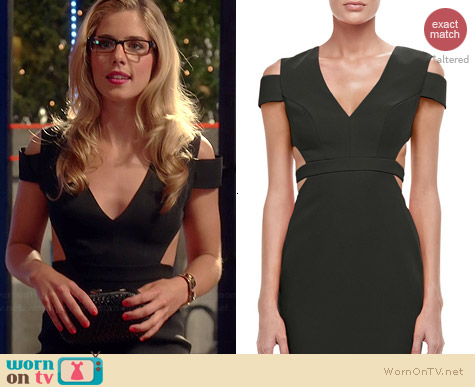 Bcbgmaxazria Ava Gown worn by Emily Bett Rickards on The Flash