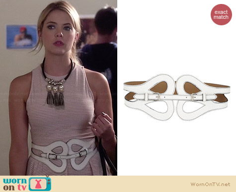 Bcbgmaxazria Butterfly Belt worn by Ashley Benson on PLL