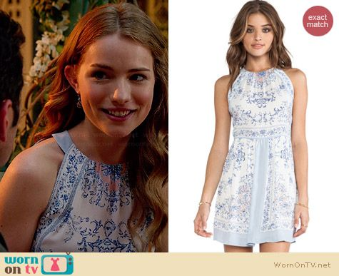 Bcbgmaxazria Cambra Dress worn by Willa Fitzgerald on Royal Pains
