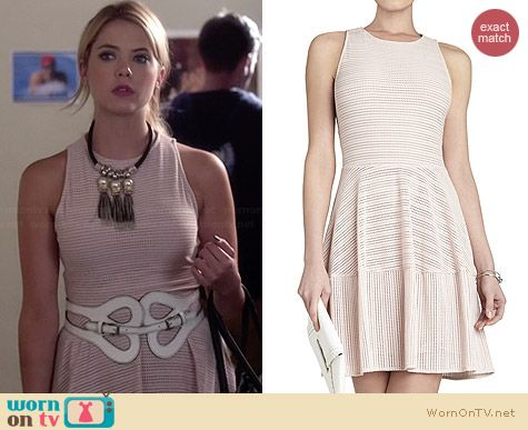Bcbgmaxazria Cassandra Dress worn by Ashley Benson on PLL