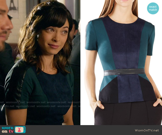 Bcbgmaxazria  'Cassaundra' Top worn by Kristin Kreuk on Beauty & the Beast