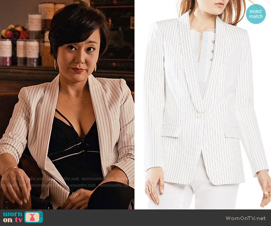 Bcbgmaxazria Claudio Jacket worn by Karen Rhodes on Mistresses