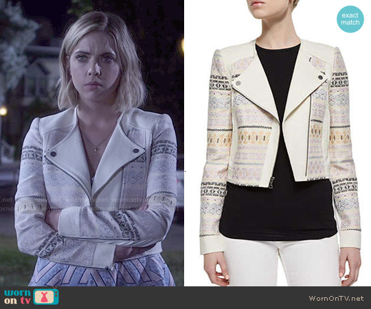 Bcbgmaxazria Cody Jacket worn by Ashley Benson on PLL
