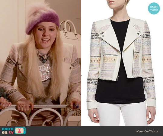 Bcbgmaxazria Cody Jacket worn by Abigail Breslin on Scream Queens