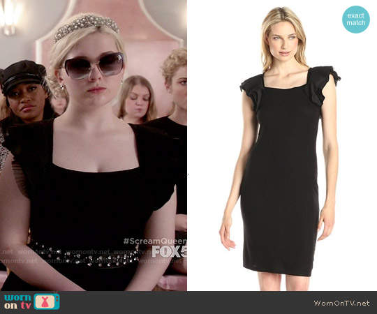 Bcbgmaxazria Cristin Dress worn by Abigail Breslin on Scream Queens