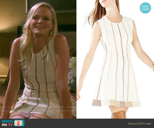 Bcbgmaxazria Dyanna Dress in Corozo Combo worn by Martha Madison on Days of our Lives
