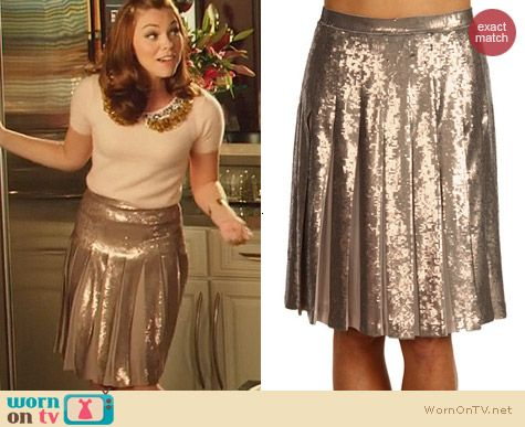 Bcbgmaxazria Edna Skirt worn by AnnaBeth Nass on Hart of Dixie