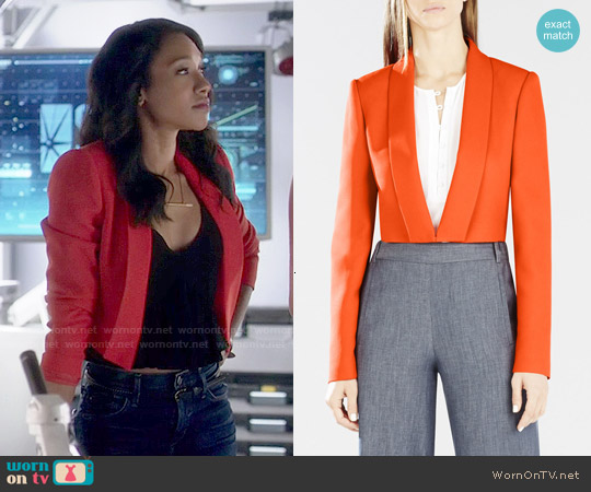 Bcbgmaxazria Emmerson Jacket worn by Iris West on The Flash