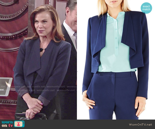 Bcbgmaxazria Franco Jacket worn by Gina Tognoni on The Young & the Restless