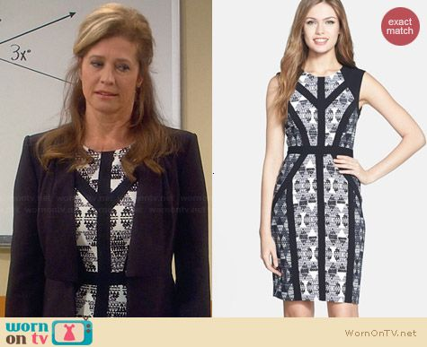 Bcbgmaxazria Holly Dress worn by Nancy Travis on Last Man Standing