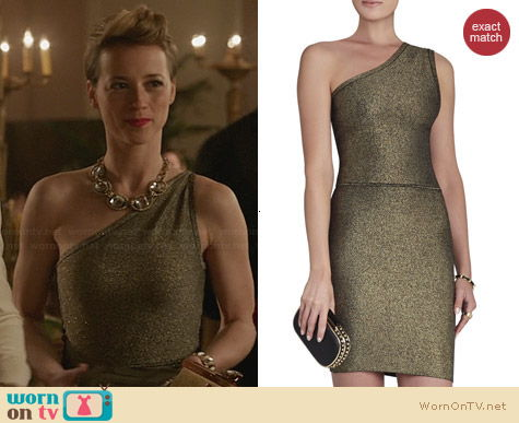 Bcbgmaxazria Inari Dress worn by Karine Vanasse on Revenge