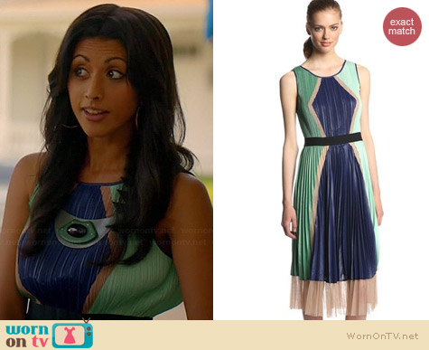 Bcbgmaxazria Kabrina Dress worn by Reshma Shetty on Royal Pains
