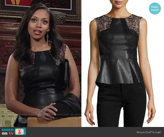 worn by Hilary Curtis (Mishael Morgan) on The Young & the Restless