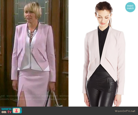 Bcbgmaxazria Lloyd jacket worn by Nicole Walker on Days of our Lives