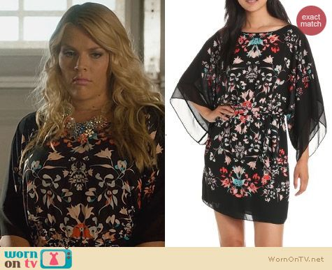 Bcbgmaxazria Lois Scarf Dress worn by Busy Phillips on Cougar Town